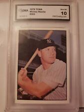 1978 tcma  #262 MICKEY MANTLE new york yankees BGS BVG 9