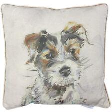 Baxter Terrier Dog Print Cushion 43cm x 43cm- Voyage Maison