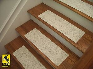 """NFSI High Traction - Vinyl Stair Tread Sets - Marble (1153) -  24"""" x 8"""""""