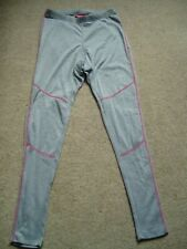 LADIES Crivit Thermal Base Layer Grey Winter Medium Approx Size 12-14 - USED