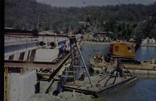 35mm Colour Slide- Woronora Bridge under Construction 4 NSW , Australia 1970's