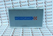 KOYO Racing V-Series Radiator For 17-18 Honda Civic 2.0L I4 Turbo Type R