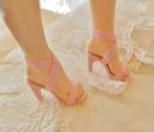 "Bright Pink Bows~ High Heel Doll Shoes for 18/"" /& 20/"" Miss Revlon, Cream S.B"