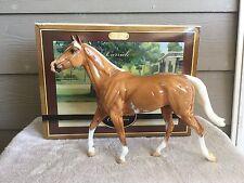 Breyer Model Horse Glossy CARRICK w/ Box Bag NAN'd Premier Club