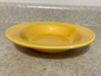 "Fiestaware Fiesta Yellow 8 1/4"" Soup Bowl Deep Plate 1936-1969"