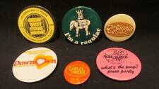 Gables Tavern, McGinnis Landing, Call the Office, 6 Pinback Buttons 1970s/80s