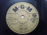 CONNIE FRANCIS  looking for love/whoever you are I love you  SINGLE INDIA VG+