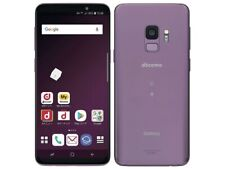 SAMSUNG GALAXY S9 SC-02K SCV38 ANDROID SMARTPHONE JAPAN VERSION UNLOCKED PURPLE