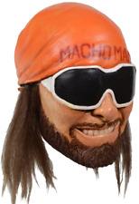 WWE World Wrestling Entertainment Macho Man Randy Savage Halloween Costume Mask