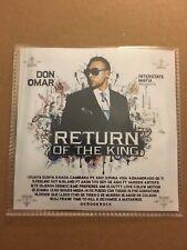 Return of the King Don Omar Spanish Reggaeton Latin Mixtape CD Mix
