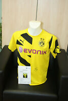 Borussia Dortmund Trikot, Kagawa signiert, BVB, Japan, Autogramm, Fußball, Gr. S