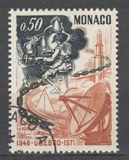 TIMBRE  MONACO OBL N° 856  UNESCO LA SCIENCE