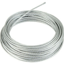 6mm 10m Galvanised Wire Rope