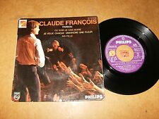 CLAUDE FRANCOIS - EP FRENCH PHILIPS 424551  / LISTEN - MOTOWN FRENCH POPCORN