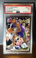 1993 Vin Baker Upper Deck Rookie Standouts #RS19 Basketball Card - PSA 7 NMT