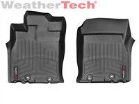 WeatherTech FloorLiner for Toyota FJ Cruiser - 2011-2014 - 1st Row - Black