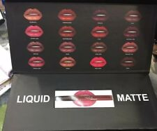 HUDA BEAUTY LIQUID MATTE LIPSTICK LIPGLOSS FULL SET 16 SHADES MAKEUP Makeup GIft