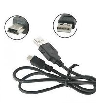 Cable cargador o de datos USB 2.0 a Mini USB B 5 para MP3 movil Camara MANDO PS3