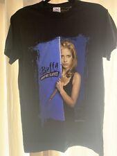 Vintage Buffy The Vampire Slayer 1998 Fox Tv Horror Portrait Graphic T-shirt