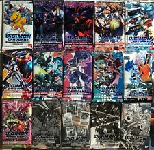 Digimon Card Game Booster Pack Factory Sealed ENGLISH (Choose your pack)