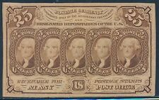 Fr1281 1St Issue - Gem Cu - 25¢ Fractional Currency With Monogram Bt725