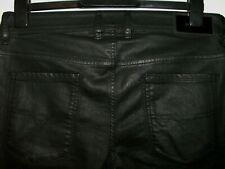 Diesel sleenker slim-skinny leather style jeans 0663Q stretch W32 L32 (a5695)