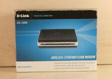 D-Link DSL-2320B ADSL2/2+ USB Ethernet Modem BA20