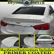 Chevy IMPALA 2014 2015 2016 2017 2018 Lip Factory Style Spoiler Wing ABS PRIMER