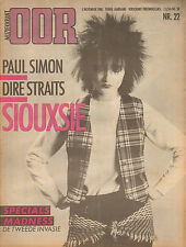 MAGAZINE OOR 1980 nr. 22  - SIOUXSIE & BANSHEES / MADNESS / MARK KNOPFLER