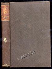 F. LENTZ, DE L'ALCOOLISME ET DES SES DIVERSES MANIFESTATIONS 1884