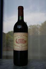 1 FL. pavillon rouge 1990, 2-e vin de chateaux margaux