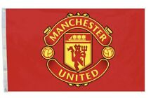 MANCHESTER United  Flag Banner 3x5 ft Soccer New Futbol Club Red