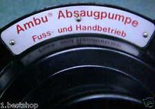 NOTFALL AMBU PUMPE ABSAUGPUMPE EMERGENCY SUCTION PUMP 1. Hilfe DRK RTW KTW BW SA