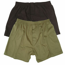 Mil-Tec Military Army Tactical Warm Cotton Boxer Shorts Trunks Briefs Pants