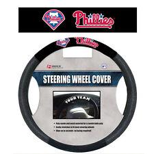MLB POLY-SUEDE MESH STEERING WHEEL COVER PHILADELPHIA PHILLIES