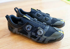 Mavic Comete Ultimate Carbon Cycling Shoe US 11-11.5 + Winter Bootie, Extras