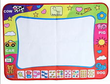 Practical Children Aqua Doodle Toy 29*19 Painting Pad with1 Water Drawing Pen Ga