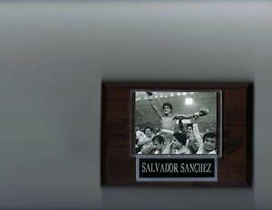 SALVADOR SANCHEZ PLAQUE BOXING CHAMPION