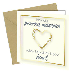#1486 Sympathy Cards Bereavement Condolence Mourning Sorry For Your Loss Death
