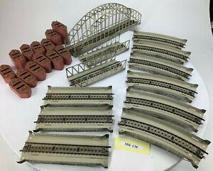 41X HO Marklin M Track Lattice Arch Bridge Girder Bridges, Ramps, Pillars MK-136