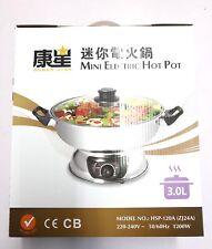Electric Hot Pot 3L. UK Seller