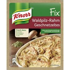 9 Bags Knorr Fix for Waldpilz Rahm Geschnetzeltes fresh from Germany New
