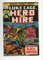 Hero for Hire #5 1ST BLACK MARIAH Alfre Woodard 5TH LUKE CAGE '73 VF 7.0 Netflix