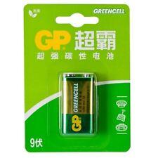 GP Greencell 9V Zinc Carbon Battery