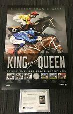WINX KINGSTON TOWN THREE TIME COX PLATE WINNERS KING & QUEEN HORSE RACING PRINT