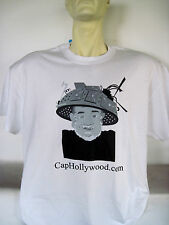 Captain Hollywood Tee T-Shirt CapHollywood Tin Foil Hat Logo Tee NEW Sealed!