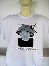 Captain Hollywood Tee T-Shirt CapHollywood Tin Foil Hat Logo Tee NEW Sealed!