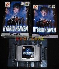 HYBRID HEAVEN Nintendo 64 N64 Versione Giapponese ••••• COMPLETO