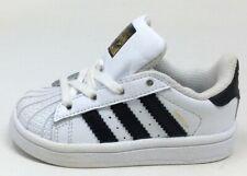 Adidas Unisex Niños Superstar I Cordones Zapatillas Blanco Negro Talla 4K