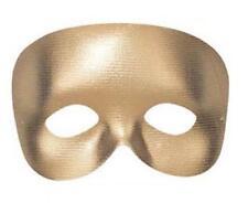 Gold Phantom Eye Mask Eyemask Masquerade Ball Cocktail Party Fancy Dress